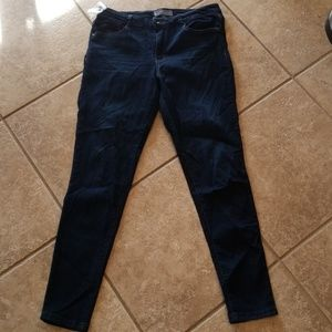 Wit and wisdom blue jeans stretch jeggings size 12
